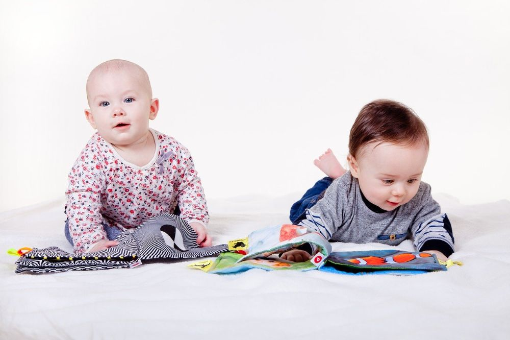 Als de baby kon beslissen koos hij voor deze interessante boekjes